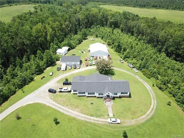 7355 Newtown Road, King & Queen, VA 23148 (MLS #2035404) :: Treehouse Realty VA