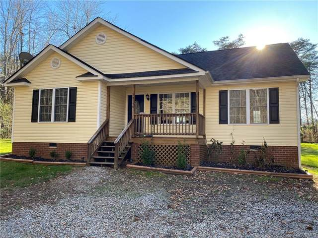 14566 Meade Road, Amelia Courthouse, VA 23002 (MLS #2036027) :: The Redux Group