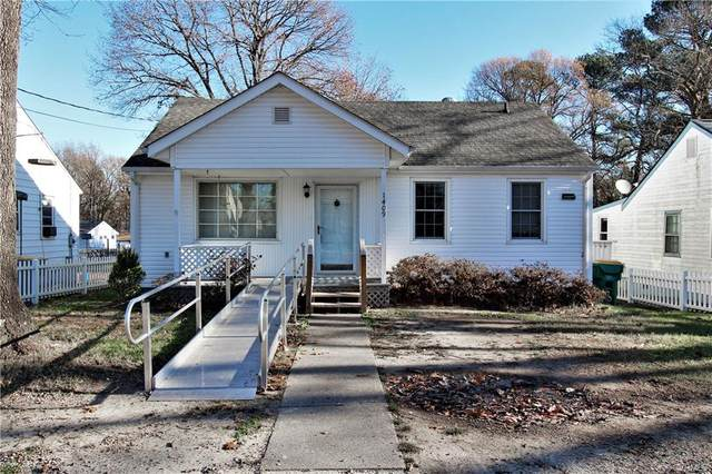 1409 Central Avenue, Hopewell, VA 23860 (MLS #2036106) :: The Redux Group