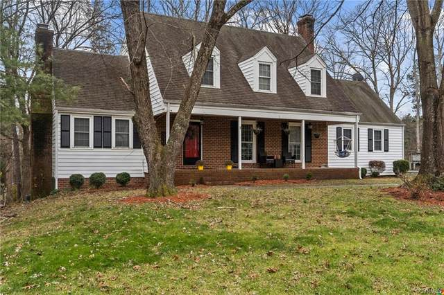 9705 Wildbriar Lane, Henrico, VA 23229 (MLS #2100259) :: The Redux Group
