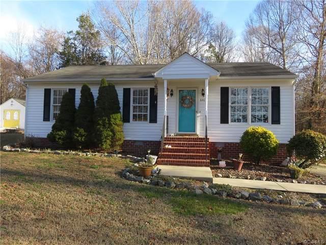 6409 Ware Road, Quinton, VA 23141 (MLS #2100968) :: Treehouse Realty VA