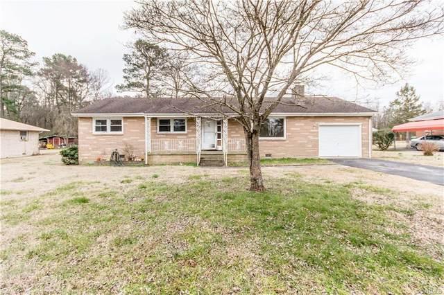 210 Seyler Drive, Petersburg, VA 23805 (MLS #2101531) :: Treehouse Realty VA