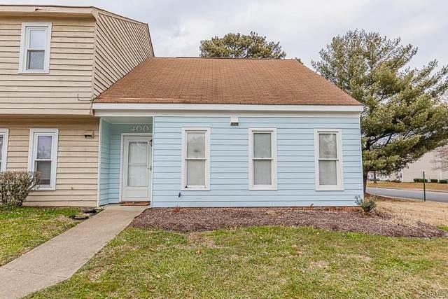 400 Newbridge Terrace #400, Henrico, VA 23223 (MLS #2101585) :: Village Concepts Realty Group
