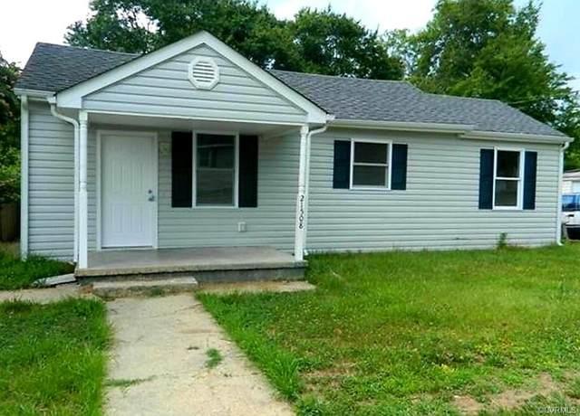 21508 Jackson Street, Petersburg, VA 23803 (MLS #2101637) :: Treehouse Realty VA