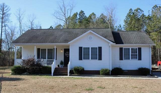 4214 Kenneth Drive, Dinwiddie, VA 23803 (MLS #2102026) :: Small & Associates