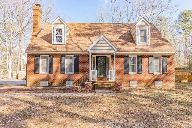 711 Reese Drive, Sandston, VA 23150 (#2102875) :: The Bell Tower Real Estate Team