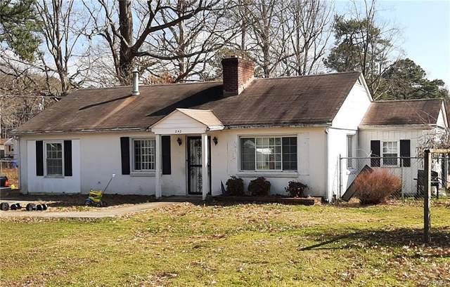 242 Wells Road, Newport News, VA 23602 (MLS #2104555) :: Village Concepts Realty Group