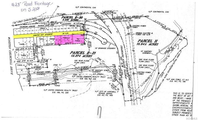 TBD S 1st Avenue, Hopewell, VA 23860 (MLS #2105709) :: Treehouse Realty VA