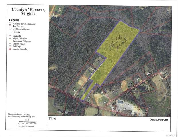 0 Greenwood Church Road, Montpelier, VA 23192 (MLS #2106492) :: EXIT First Realty