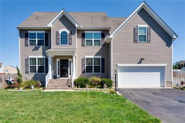 8831 Lake Jordan Lane, Petersburg, VA 23803 (MLS #2107079) :: Village Concepts Realty Group