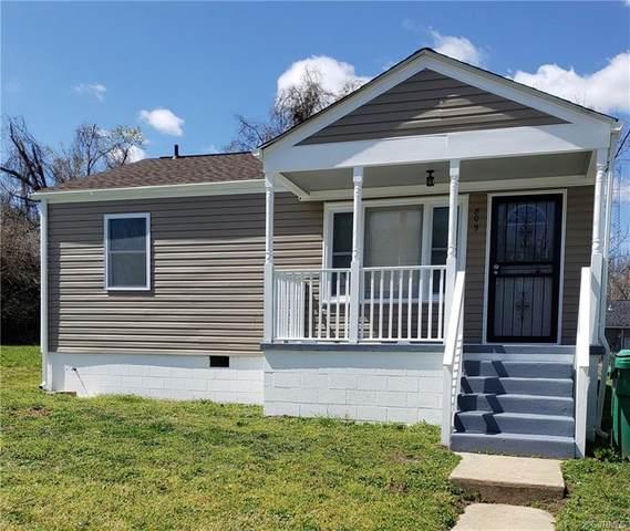 809 Halifax Street, Petersburg, VA 23803 (MLS #2108971) :: Treehouse Realty VA