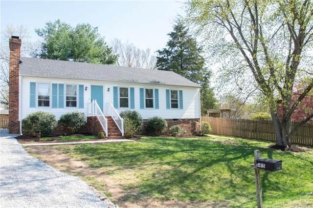 6415 Sledds Lake Road, Hanover, VA 23111 (MLS #2109408) :: EXIT First Realty