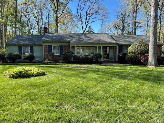 7601 Dell Drive, North Chesterfield, VA 23235 (MLS #2110168) :: EXIT First Realty