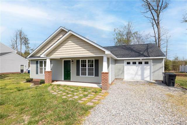 21137 Baileys Lane, South Chesterfield, VA 23803 (MLS #2110328) :: The RVA Group Realty