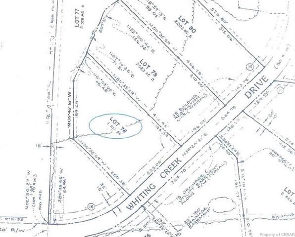 000 Whiting Creek Drive, Locust Hill, VA 23023 (MLS #2110410) :: The RVA Group Realty
