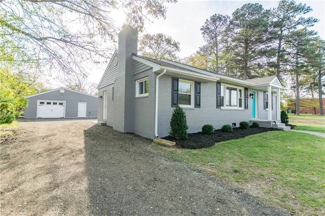 4821 Burtfield Drive, Henrico, VA 23231 (MLS #2110713) :: The RVA Group Realty