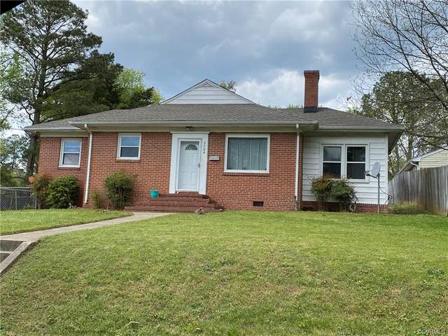 3504 Totty Street, Petersburg, VA 23803 (MLS #2110849) :: Treehouse Realty VA