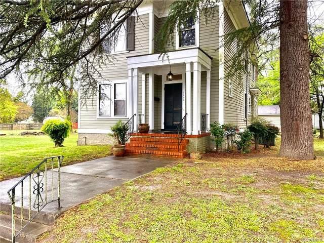 1806 Powhatan Avenue, Petersburg, VA 23805 (MLS #2110958) :: Treehouse Realty VA
