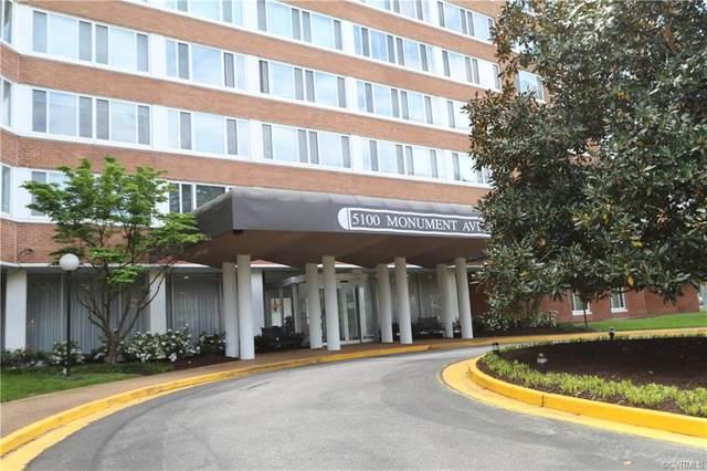 5100 Monument Avenue #1215, Richmond, VA 23230 (MLS #2111084) :: The RVA Group Realty