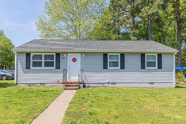 374 Red Oak Drive, Hopewell, VA 23860 (MLS #2111402) :: Blake and Ali Poore Team
