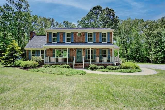 9205 Sandy Creek Lane, Mechanicsville, VA 23116 (MLS #2113165) :: Treehouse Realty VA