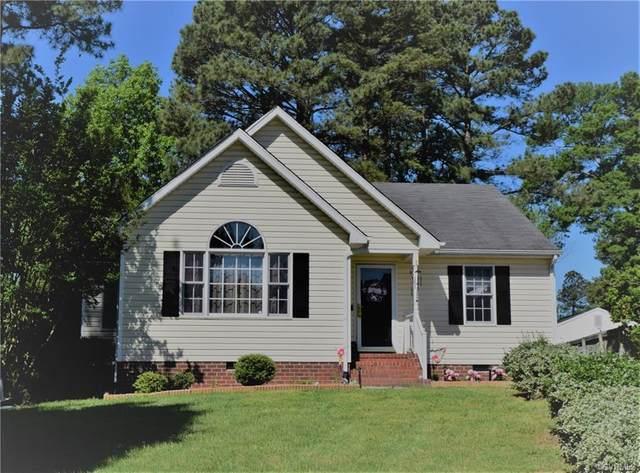7955 Baneberry Drive, Mechanicsville, VA 23111 (MLS #2113236) :: Village Concepts Realty Group