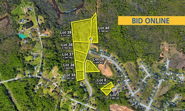 Lot 28 Flat Top Road, Hopewell, VA 23860 (MLS #2113402) :: HergGroup Richmond-Metro