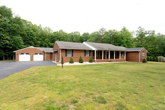10300 Redfield Drive, Amelia Courthouse, VA 23002 (MLS #2113525) :: EXIT First Realty