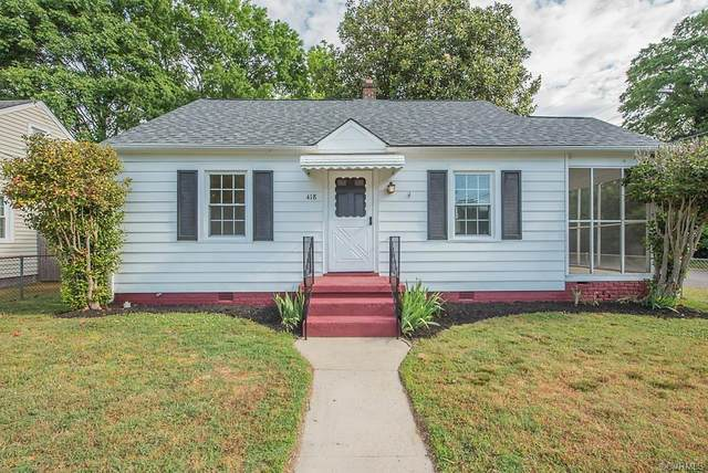418 Dick Ewell Avenue, Colonial Heights, VA 23834 (MLS #2113712) :: Village Concepts Realty Group
