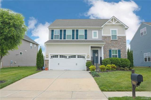 9523 Thornecrest Drive, Hanover, VA 23116 (MLS #2113907) :: Village Concepts Realty Group