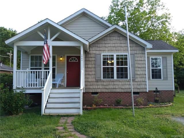 2905 Taylor Avenue, West Point, VA 23181 (MLS #2114077) :: The Redux Group
