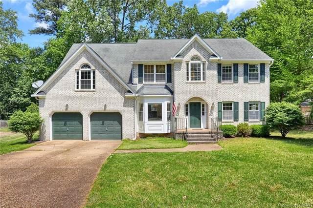 112 Ewell Place, Williamsburg, VA 23188 (MLS #2114240) :: Small & Associates