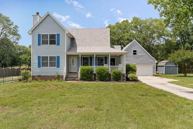 24808 Brickwood Meadow Lane, Dinwiddie, VA 23803 (MLS #2116580) :: Village Concepts Realty Group