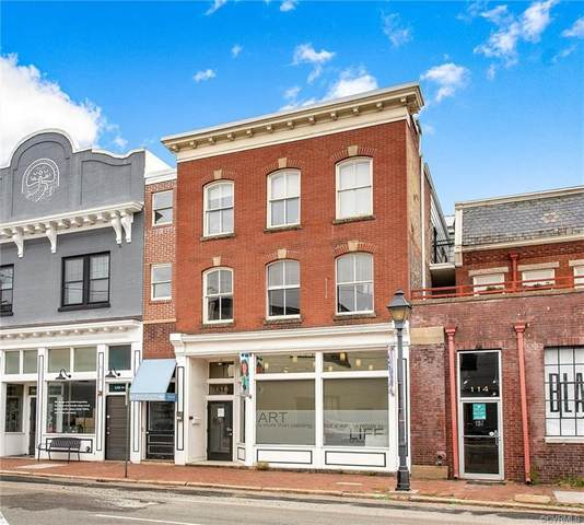 110 W Marshall #24, Richmond, VA 23220 (MLS #2116614) :: Small & Associates