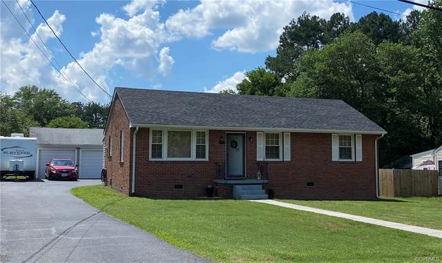 21400 Warren Avenue, South Chesterfield, VA 23803 (MLS #2117033) :: The RVA Group Realty