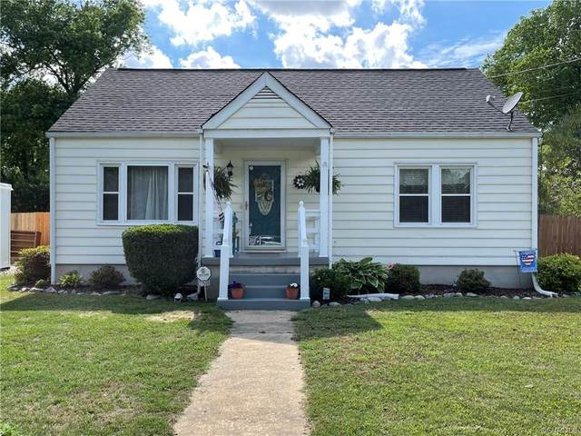 21506 Perdue Avenue, South Chesterfield, VA 23803 (MLS #2117547) :: EXIT First Realty