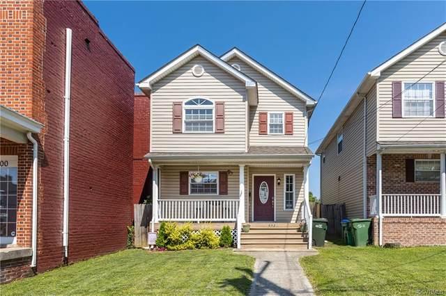 602 N 30th Street, Richmond, VA 23223 (MLS #2118106) :: EXIT First Realty