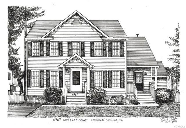 6967 Cory Lee Court, Mechanicsville, VA 23111 (MLS #2118436) :: Small & Associates