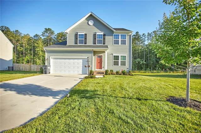 5848 Heathers Crossing Drive, Chesterfield, VA 23832 (MLS #2118898) :: The RVA Group Realty