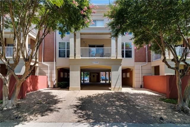 2100 Grove Avenue U6, Richmond, VA 23220 (MLS #2119048) :: Small & Associates