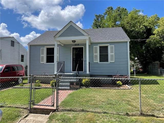 538 Reservoir Avenue, Petersburg, VA 23803 (MLS #2119796) :: The Redux Group