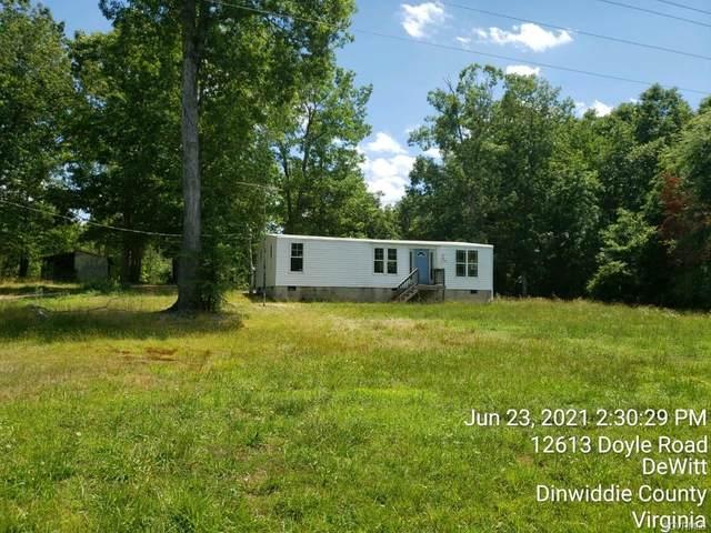 12613 Doyle Road, Dewitt, VA 23840 (MLS #2120990) :: The RVA Group Realty