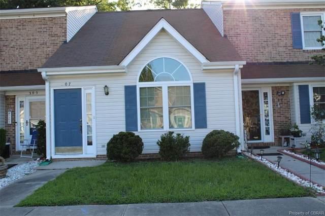 207 Crestwood Court #207, Yorktown, VA 23692 (MLS #2121338) :: EXIT First Realty