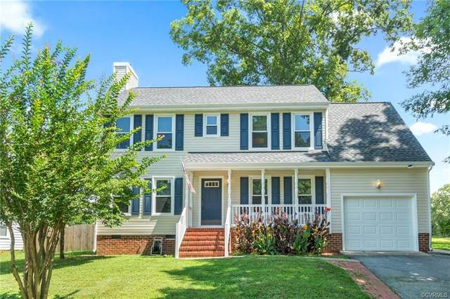 2400 Providence Creek Road, Chesterfield, VA 23236 (MLS #2121396) :: EXIT First Realty