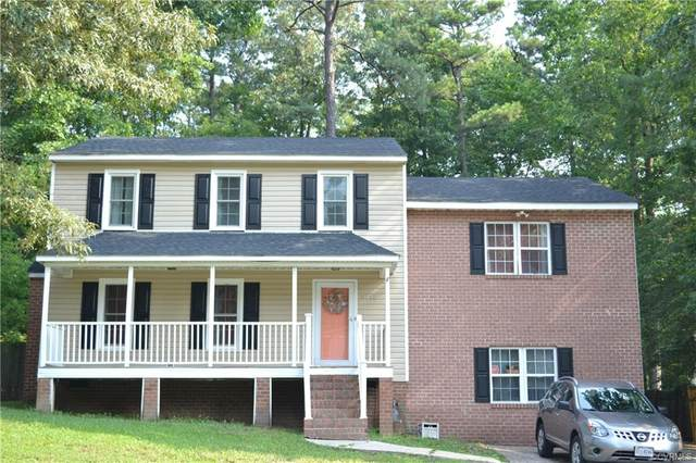 5112 Timbercreek Drive, North Chesterfield, VA 23237 (MLS #2122271) :: EXIT First Realty