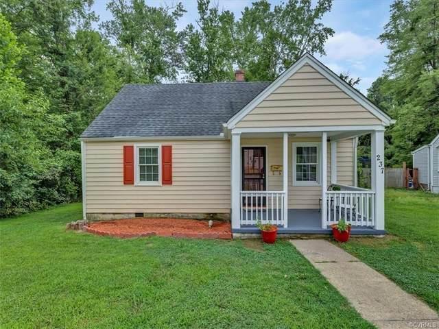 237 Defense Avenue, Sandston, VA 23150 (MLS #2122348) :: EXIT First Realty