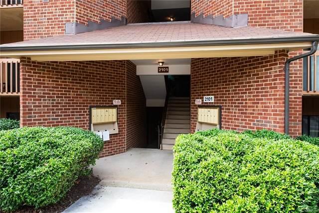 2101 Turtle Creek Drive #1, Henrico, VA 23233 (MLS #2122451) :: Small & Associates