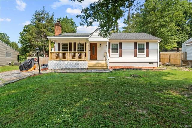 5206 Oakforest Drive, Chesterfield, VA 23832 (MLS #2123626) :: Village Concepts Realty Group
