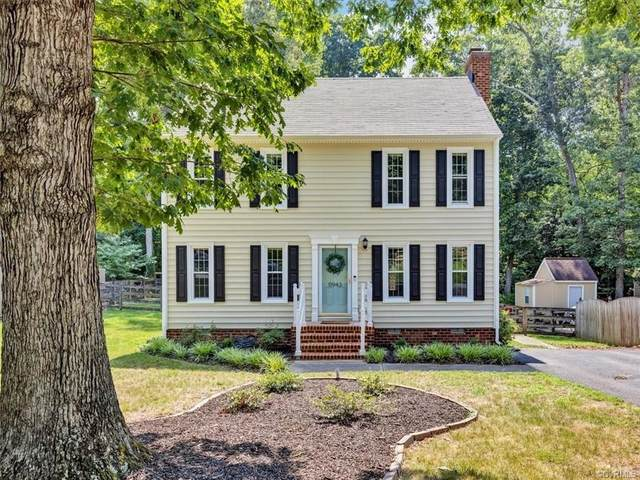 11943 Mountain Laurel Drive, North Chesterfield, VA 23236 (MLS #2123894) :: The RVA Group Realty
