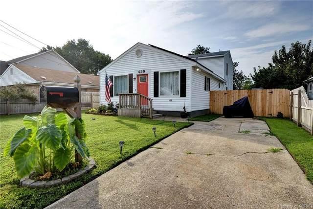 439 Hunlac Avenue, Hampton, VA 23664 (MLS #2126188) :: The Redux Group